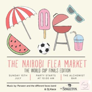 The Nairobi Flea Market: World Cup Finals Edition | The Alchemist